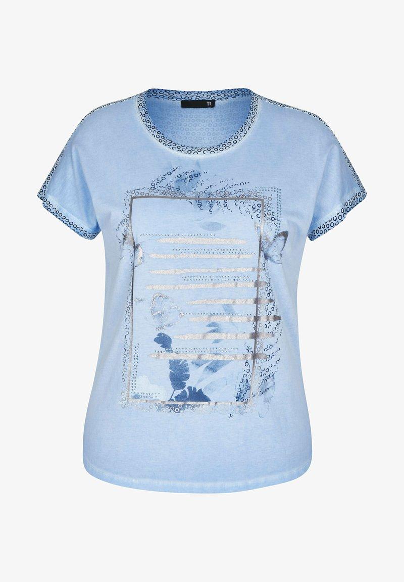 TR - Print T-shirt - hellblau