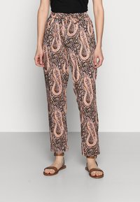 Soyaconcept - OLGA - Trousers - biscuit combi - 0