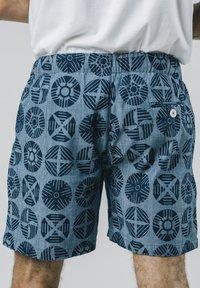 Brava Fabrics - GEOCIRCLES - Shorts - blue - 1