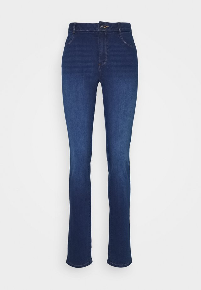 TALL MIDWASH ELLIS STRAIGHT JEAN - Jeans Skinny Fit - midwash