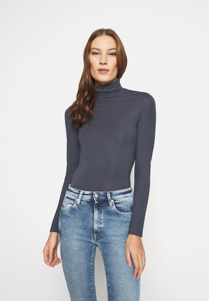 Zign - Long sleeved top - anthracite