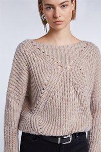 SET - Sweatshirt - beige - 4