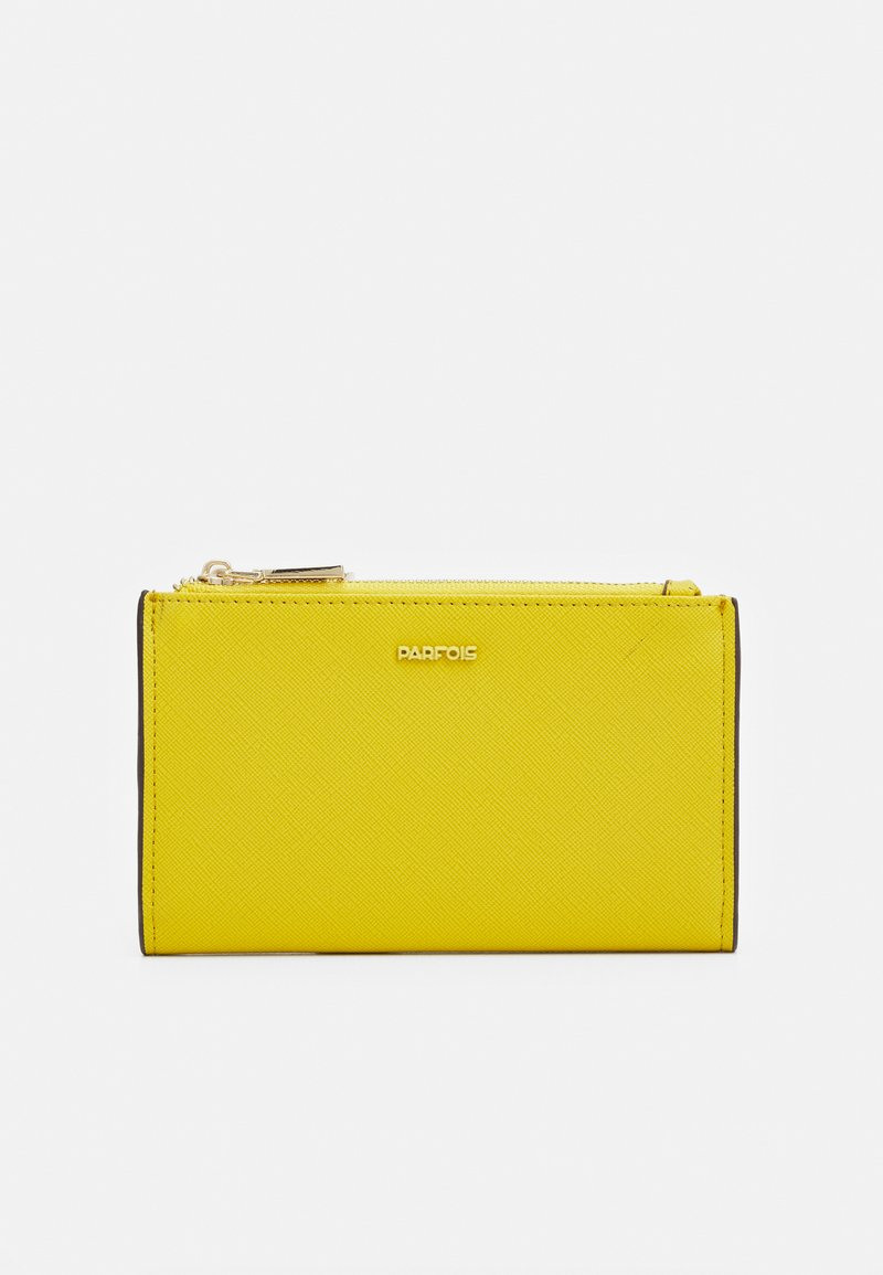 PARFOIS - WALLET BASIC JUNGLE - Wallet - yellow