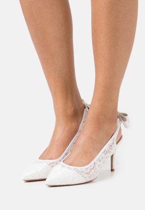 DARLINGS - Classic heels - white
