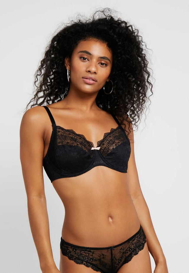 GEORGIA - Underwired bra - schwarz