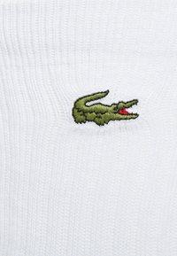 Lacoste - 3 PACK - Socks - blanc - 2