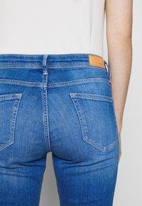 s.Oliver - Denim shorts - blue denim - 6