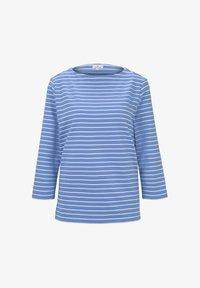 bleu offwhite stripe