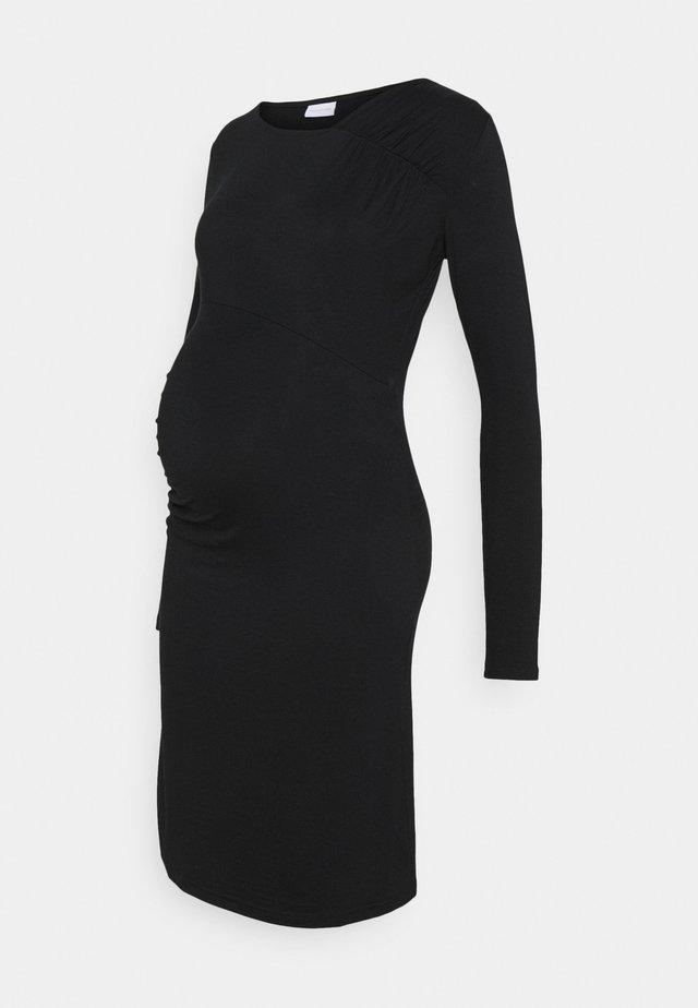 MLMARTA SHORT DRESS - Jerseykjoler - black