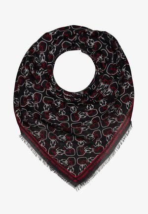 IKONIK OUTLINE SCARF - Foulard - black