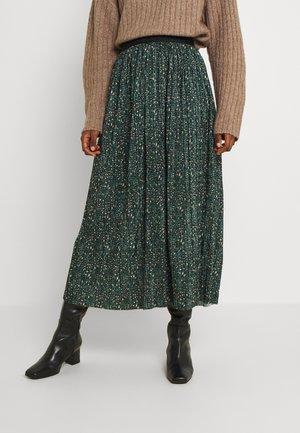 CHRYSTAL - Áčková sukně - sapin