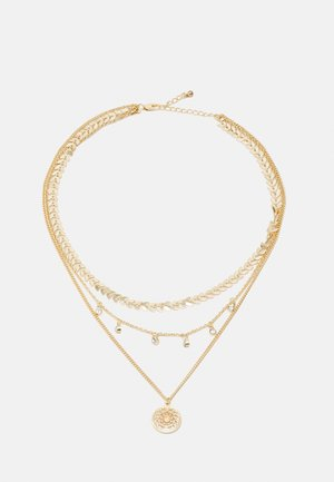 FGEGGI COMBI NECKLACE - Necklace - gold-coloured