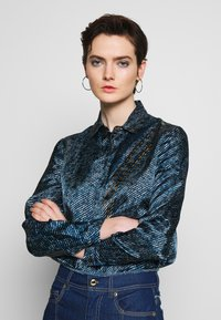 Versace Jeans Couture - Button-down blouse - indigo - 0