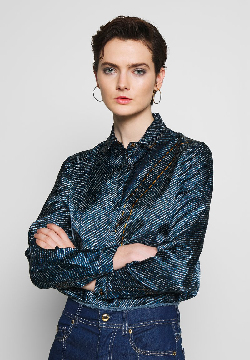 Versace Jeans Couture - Button-down blouse - indigo