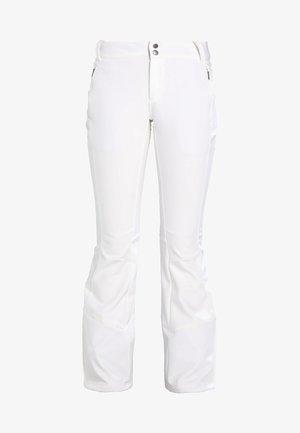 ROFFE RIDGE - Spodnie narciarskie - white