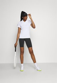 adidas Performance - CLUB  - Korte broeken - black/white - 1