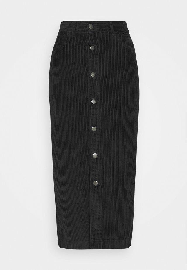 RAINEY - Pouzdrová sukně - black