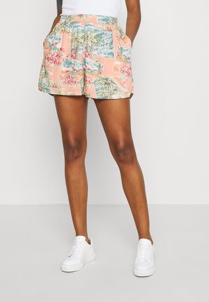 CORE SMOCKED WAIST  - Shorts - coral