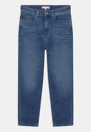 TAPERED - Relaxed fit jeans - blue denim