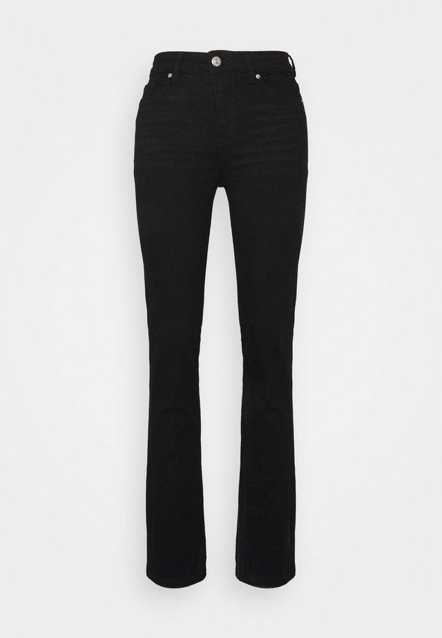 SIENNA - Jeans straight leg - black