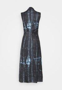 Never Fully Dressed Tall - HIGH NECK SLIP MIDI DRESS  - Day dress - navy/multi - 1