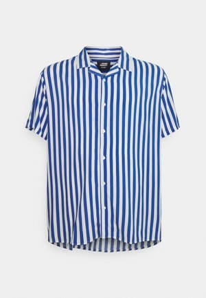 PLUS CUBA - Shirt - navy/white