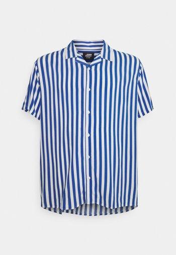 PLUS CUBA - Shirt - navy/white