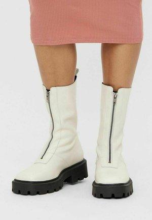 BIADANIELLE - Platform boots - offwhite