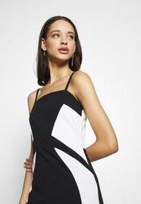 WAL G. - DETAIL DRESS - Vestido de fiesta - black/white - 4