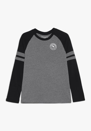 FOOTBALL TEE - Langarmshirt - grey/black