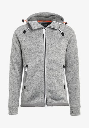 STORM DOUBLE ZIPHOOD - Zip-up hoodie - grey grit