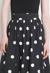 EDITED - JARINE SKIRT - Maxi skirt - bold dot - 5