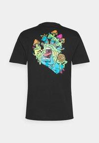 Santa Cruz - TOXIC HAND UNISEX  - Print T-shirt - black - 1