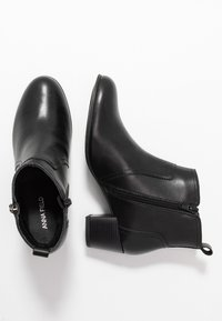 Anna Field Wide Fit - LEATHER BOOTIES - Ankle boot - black - 3