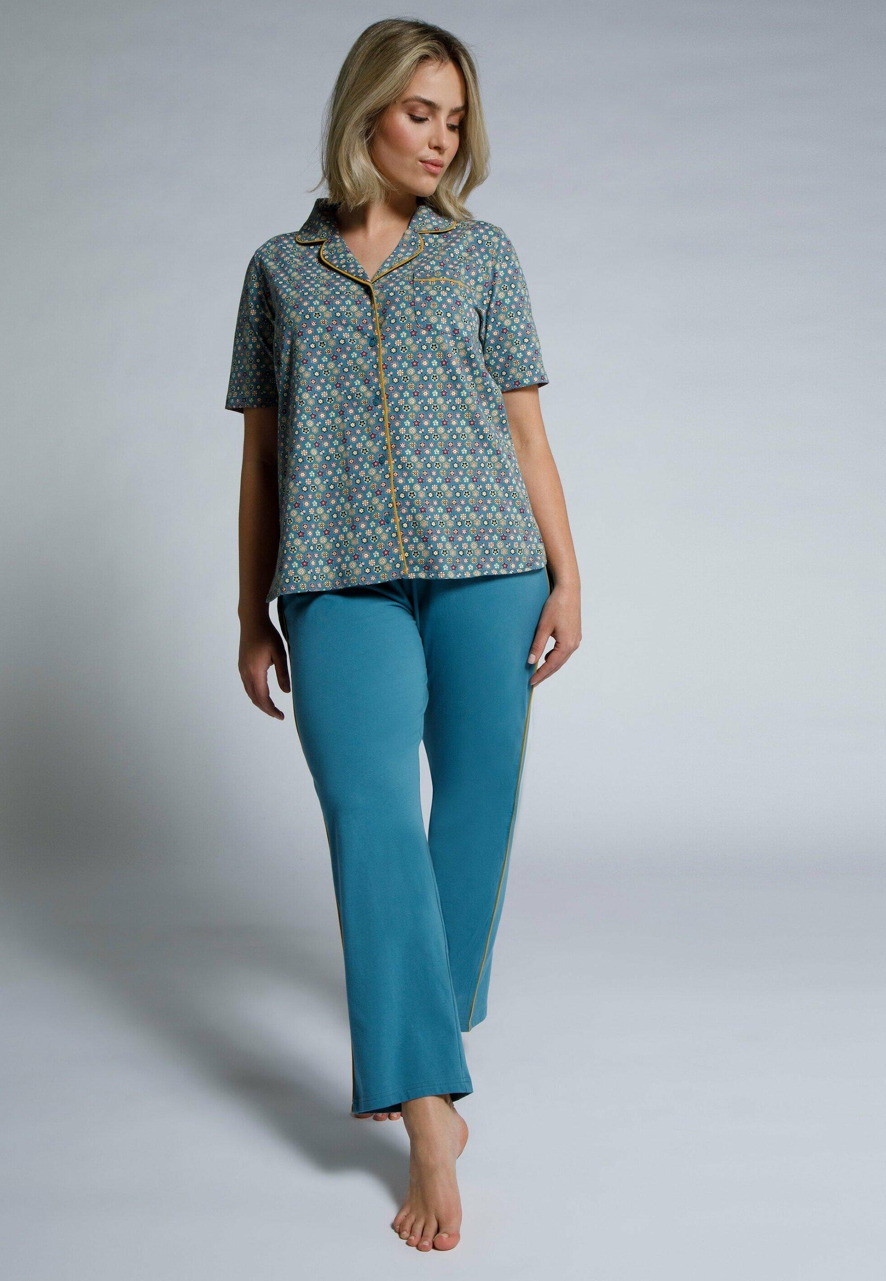 Femme REVERSKRAAG, LANGE MOUWEN - Pyjama