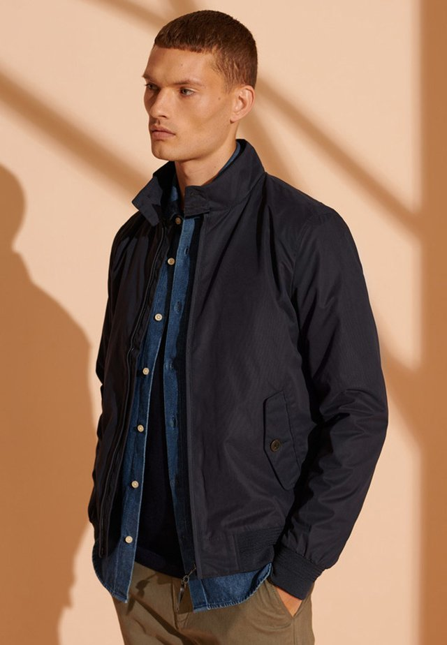 HARRINGTON - Korte jassen - navy