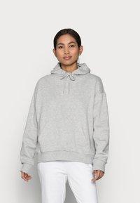 Even&Odd Petite - Sweat à capuche - mottled light grey - 0