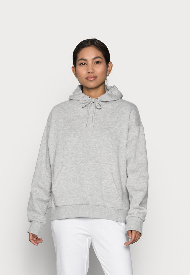 Even&Odd Petite - Sweat à capuche - mottled light grey