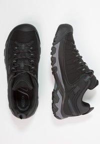 Keen - TARGHEE WP - Hikingskor - black/steel grey - 1