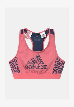 LEO - Sports bra - hazy rose/crew navy