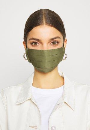3 PACK - Látková maska - dark green/black/khaki