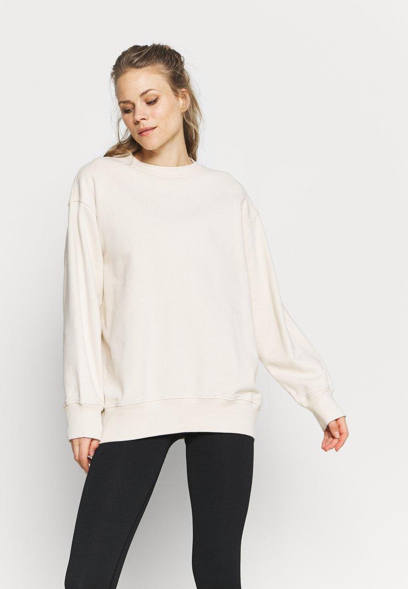 ARKET - Sweatshirt - white dusty