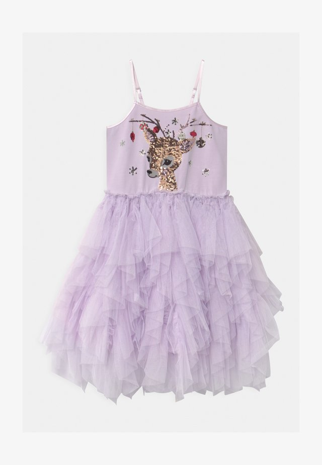 IRIS  - Žerzejové šaty - lavendar fog