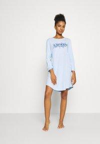 Lauren Ralph Lauren - SLEEPSHIRT - Camicia da notte - blue - 1