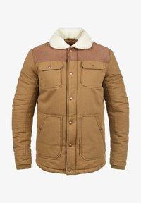 Solid - FERDINAND - Winter jacket - light brown - 2