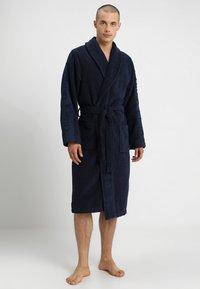 Calvin Klein Underwear - ROBE - Dressing gown - blue - 0