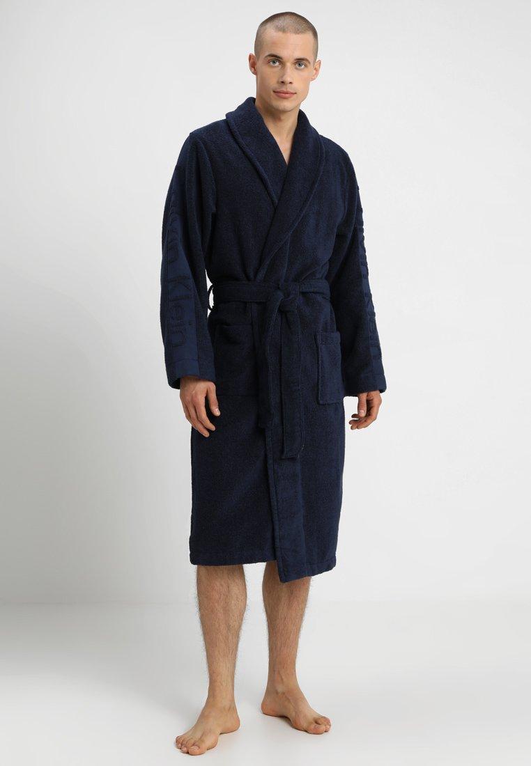 Calvin Klein Underwear - ROBE - Dressing gown - blue