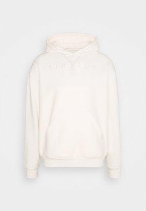 OVERHEAD HOODIE - Sweatshirt - ecru