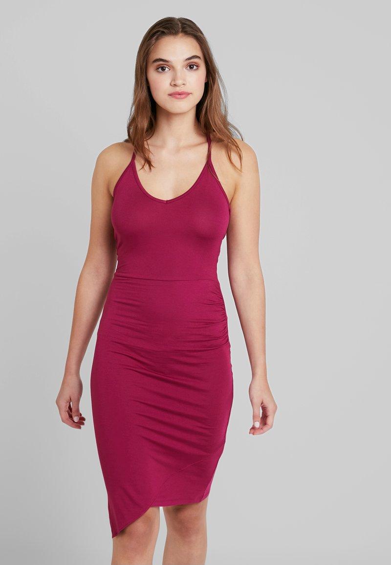 Even&Odd - Denní šaty - beaujolais