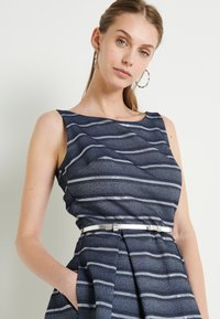 Swing - Cocktail dress / Party dress - marine /silber - 6